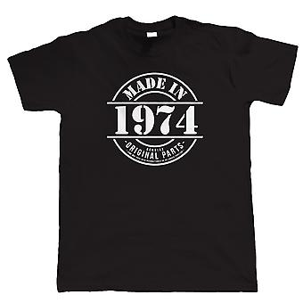 Made in 1974 Mens Funny T Shirt