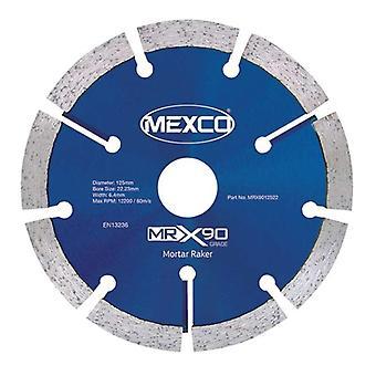 Mexco 115Mm Mörser Raker X90 Grade Diamant-Trennscheibe