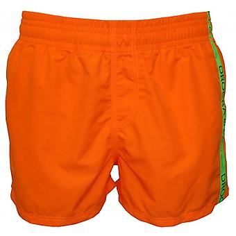 Drogba & Co. by HOM Beach Boxer Shorts, Orange