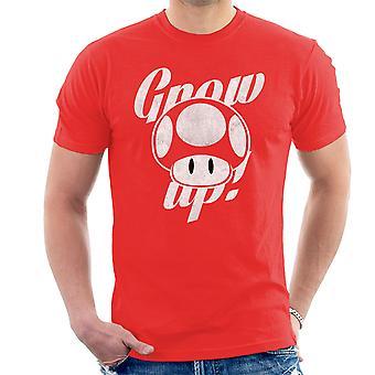 Super Mario Grow Up Men's T-Shirt