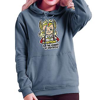 Lil-She-Ra zu Ehren von Greyskull Frauen das Sweatshirt mit Kapuze