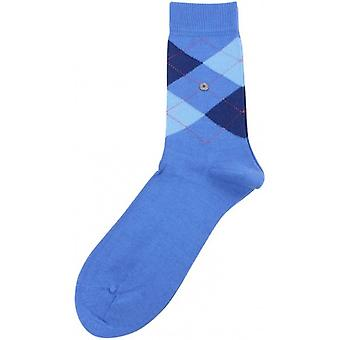 Burlington Covent Garden Socks - Blue/Navy/Light Blue