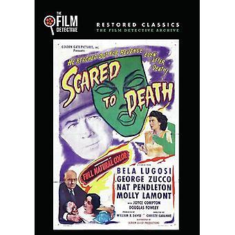 Skræmt til døden [DVD] USA import