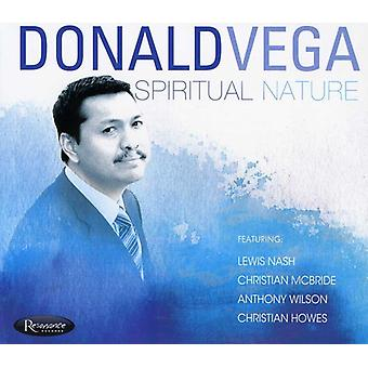 Donald Vega - åndelige natur [CD] USA import