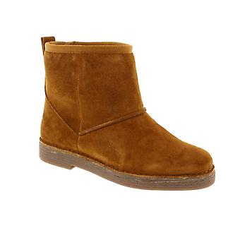 Clarks Drafty Day - Tan Suede (Brown) Womens Boots