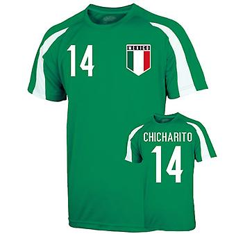 Mexiko Sporttraining Jersey (chicharito 14)