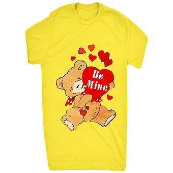 Ser conocida mina San Valentín lindo peluche Bear_vectorized
