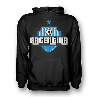 Argentina Country Logo Hoody (black) - Kids