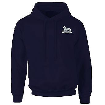 De Prince of Wales eigen Regiment van Yorkshire PWORY geborduurd Logo - officiële MOD Hoodie Hooded Sweatshirt