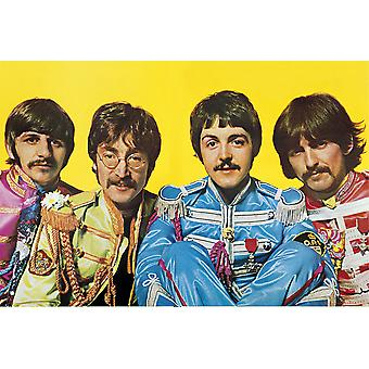 Beatles ensomme hjerter klub Maxi plakat