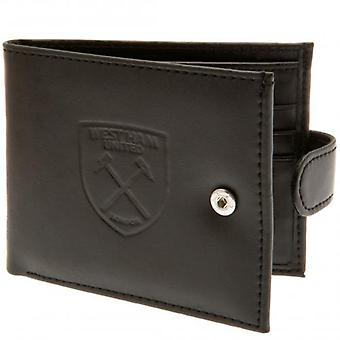 West Ham United rfid Anti Fraud Wallet