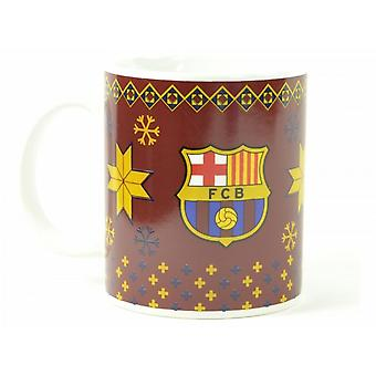 FC Barcelona Official Christmas Mug