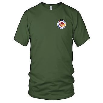 US Army - 442nd Airborne Infantry Regimental Combat Team Embroidered Patch - Mens T Shirt
