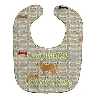 Carolines Treasures  BB6530BIB Caucasian Shepherd Dog Dog Gone Cute Baby Bib