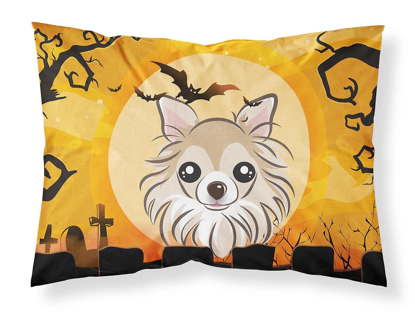 De Taie Standard Halloween Tissu Chihuahua D'oreiller eHY2IED9W