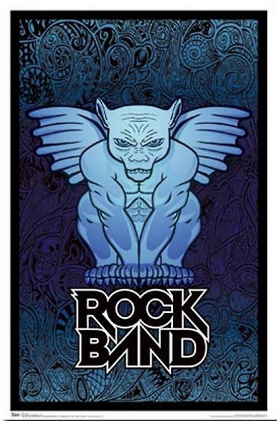 Rock Band - Nice Poster Poster Print