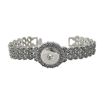 Stainless Steel Bracelet For Click Buttons Kb0171