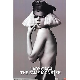 Lady Gaga - Fame Monster affisch Skriv