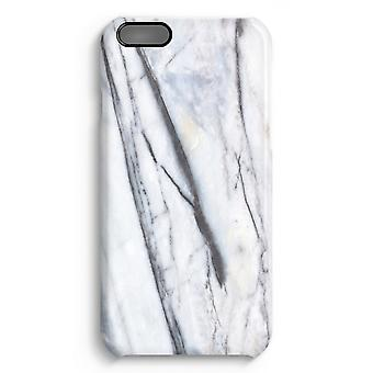 iPhone 6 Plus Full Print Case (Glossy) - Striped marble