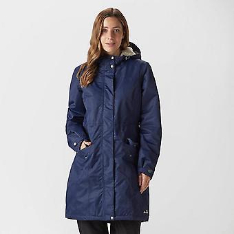 Navy Peter Storm Women's Ice Fur Lined Waterproof Jacket