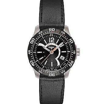 Traser H3 Ladytime black ladies watch T7392. QA6. G1A. 01 / 100323