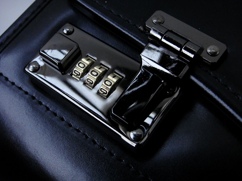 Leather Pilot Case Business Laptop Travel Flight Briefcase Bag Hand Luggage