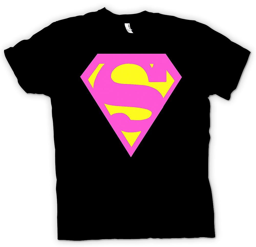 Womens T-shirt - Supergirl - Comic - Helden - lustig