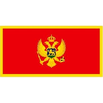 Montenegro 2006 on Flag 5ft x 3ft With Eyelets for hanging