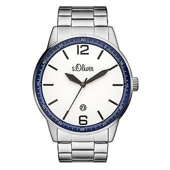 s.Oliver Herren-Armbanduhr Analog Quarz SO-15162-MQR