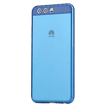 Original ROCK silicone case bag transparent / blue for Huawei P10 case new