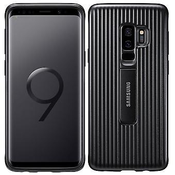 Couverture de protection permanent Samsung EF RG965CBEGWW pour Galaxy S9 plus G965F sac Housse Etui noir