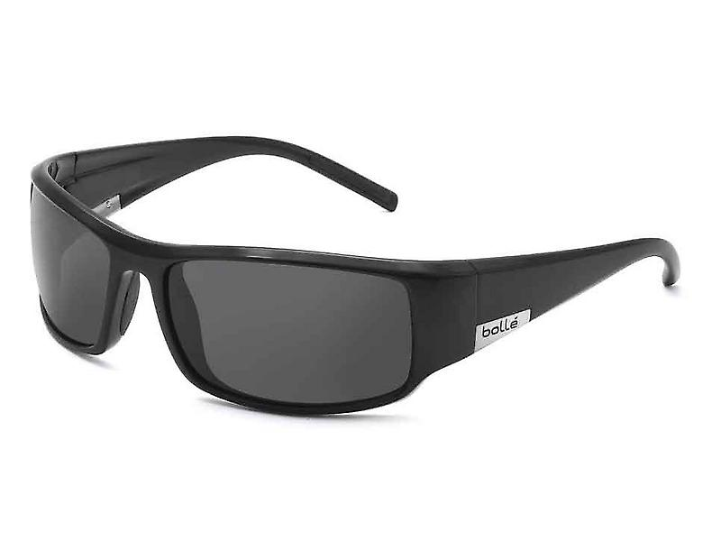 Bolle King Sunglasses (TNS Lens Shiny Black Frame)
