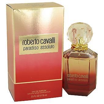 Roberto Cavalli Paradiso Assoluto Eau de Parfum 75ml EDP Spray