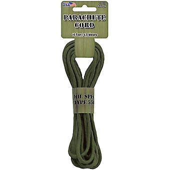 Parachute Cord 4mmx16'-Olive Drab
