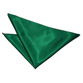 Emerald Green Plain Satin Tasche Platz