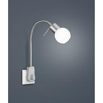 Trio Lighting Fred Modern Nickel Matt Metal Spot