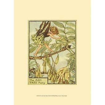 The Ash Tree Fairy Poster Print by Vision studio (10 x 13)