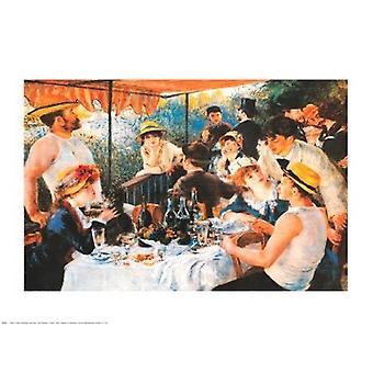 Lunch van de varen partij 1881 Poster Print by Pierre-Auguste Renoir (30 x 24)