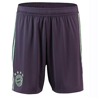 2018-2019 Bayern Munich Adidas Away Shorts (violet)