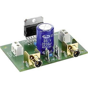 Conrad Components Stereo amplifier Component 9 Vdc, 12 Vdc, 18 Vdc 35 W 2 Ω