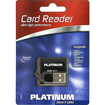 Platinum 177604-3 External memory card reader USB 2.0