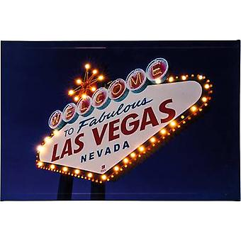 LED picture Las Vegas LED Warm white Heitronic Las Vegas 34083 Multi-coloured