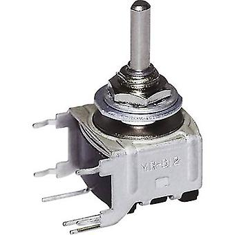 NKK Switches MRB14B Rotary switch 28 V DC/AC 0.1 A Switch postions 3 2 x 45 ° 1 pc(s)