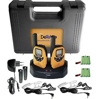 DeTeWe Outdoor 8000 Duo Case 208046 PMR handheld transceiver 2-piece set