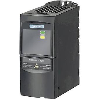 Siemens Frequency inverter MICROMASTER 420 0.25 kW 1-phase
