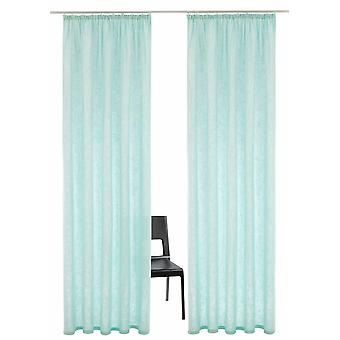ANDA 2er set views poet curtain» Charlotte «cotton Ribbon H/W 225/140 cm.