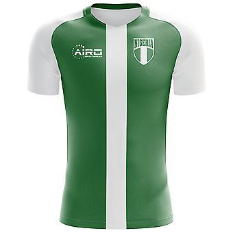 2018-2019 Nigeria Flag Home Concept Football Shirt - Kids