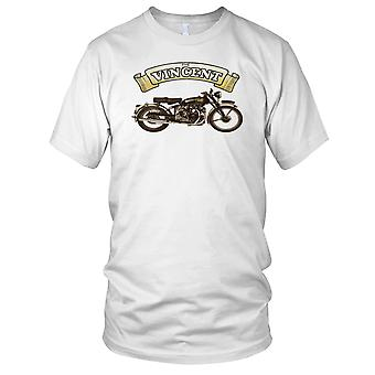 The Vincent HRD Classic Bike Mens T Shirt