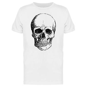 Ink Style Front Skull Tee Men's -Image by Shutterstock