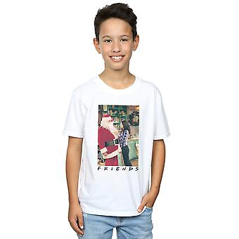 Friends Boys Chandler Claus T-Shirt